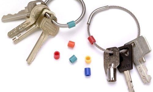 Tamper Proof Key Ring